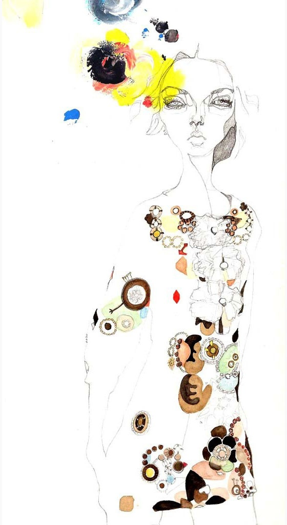 Julie Verhoeven; my favorite fashion illustrator