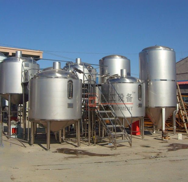 """10hl/batch ale / lager production system,craft beer making machine"""