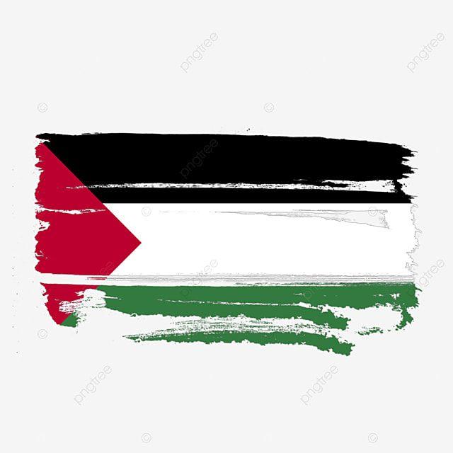 فلسطين العلم شفافة مع فرشاة الطلاء بالألوان المائية فلسطين علم فلسطين علم فلسطين Png وملف Psd للتحميل مجانا Palestine Flag Watercolour Painting Watercolor