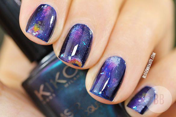 Galaxy Nails #2   Kiko Dark Heroine Fall 2013
