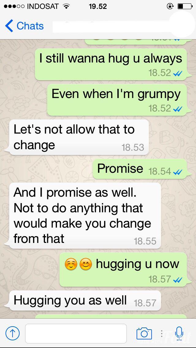 Boyfriend hugging Miss sweet