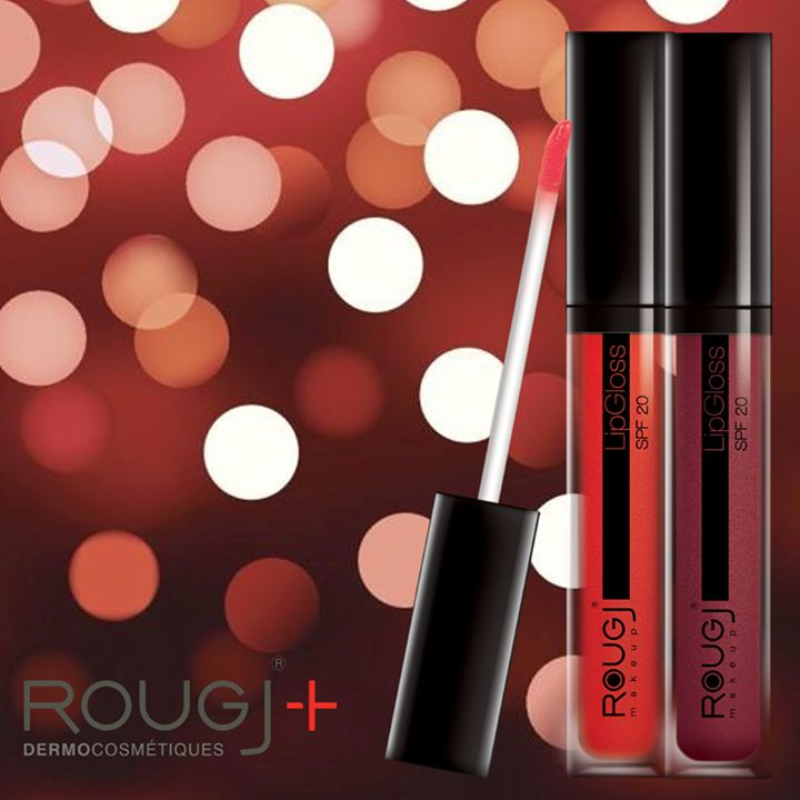 Lip-Gloss Rougj in two colors
