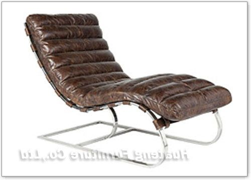 Leather chaise longue house and home pinterest for Chaise longue leather