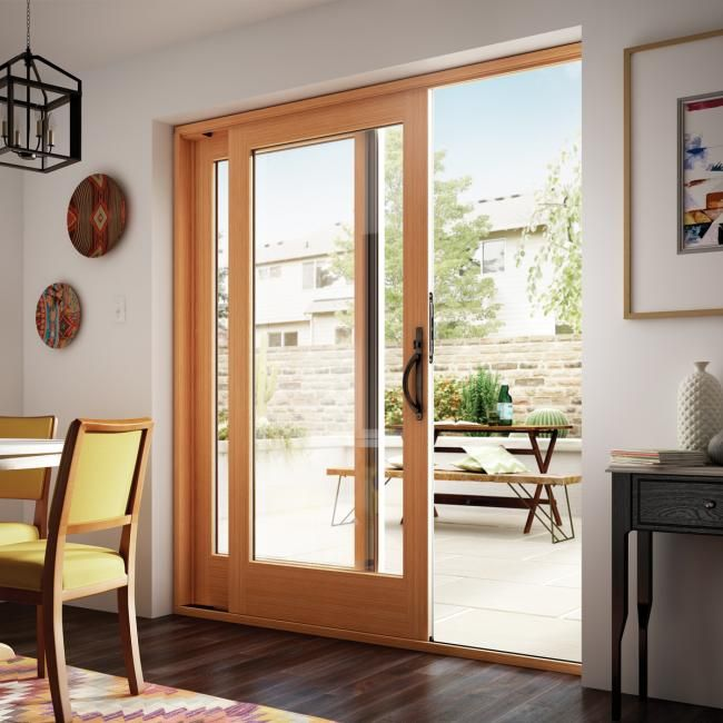 Best 25 sliding patio doors ideas on pinterest sliding for Sliding glass doors that look like french doors