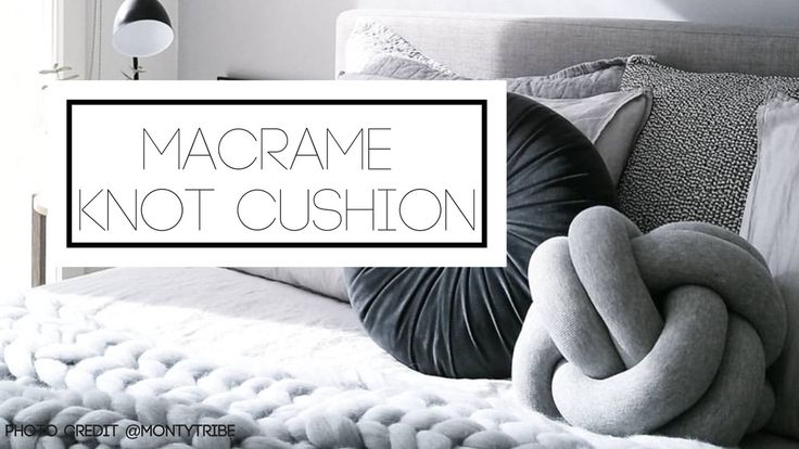 Our Macrame Knot cushions are soft, fun and stylish! Help us make our small…