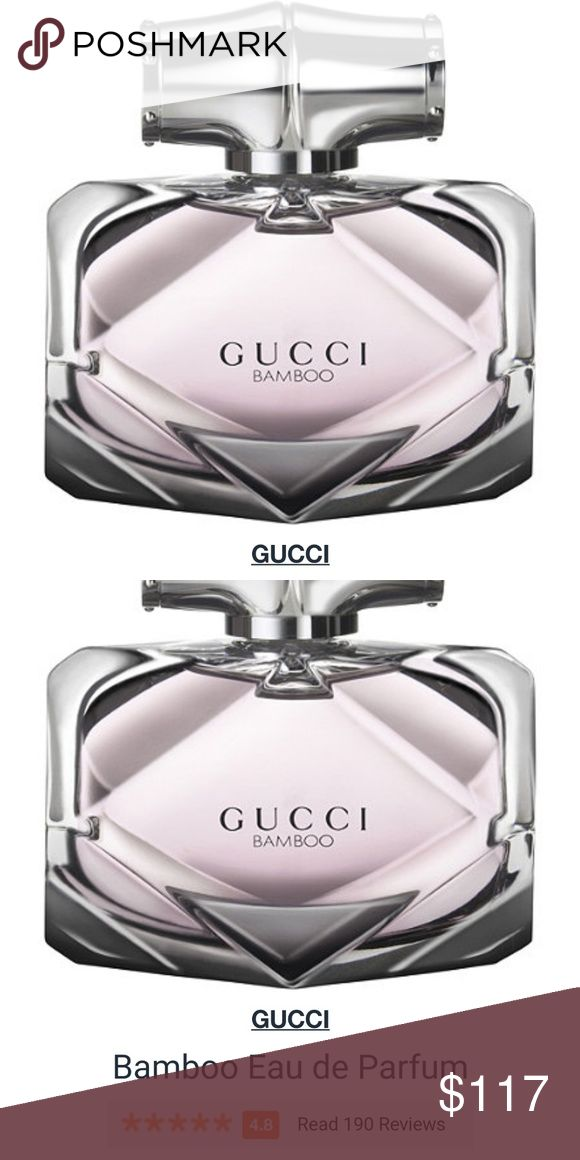 Gucci Bamboo Eau de Parfum This is new and never sprayed. No box.  No trades.  Please submit any offers via the offer option. Gucci Makeup