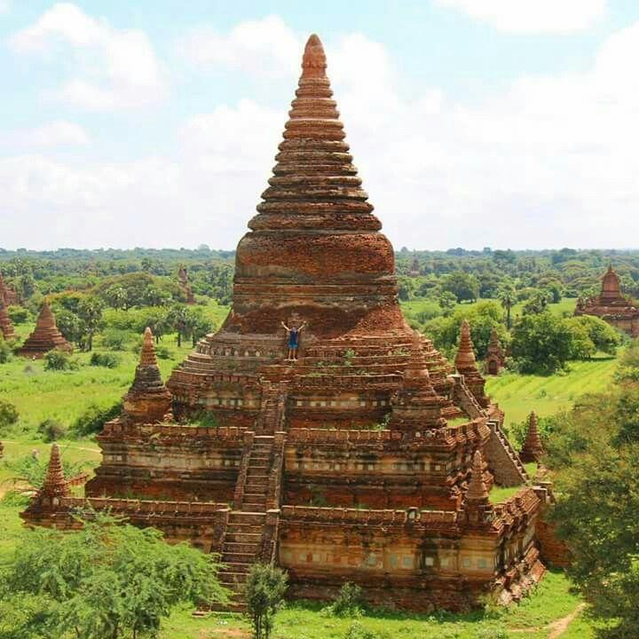 Bulethi, Nyaung-U, Pagoda in Bagan, Myanmar