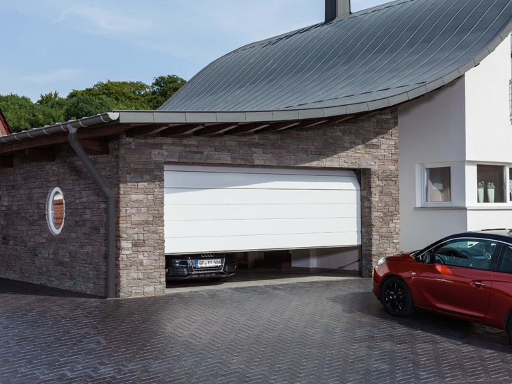 Garagentor modern weiß  12 best Garagentore images on Pinterest | Garages, Carriage house ...
