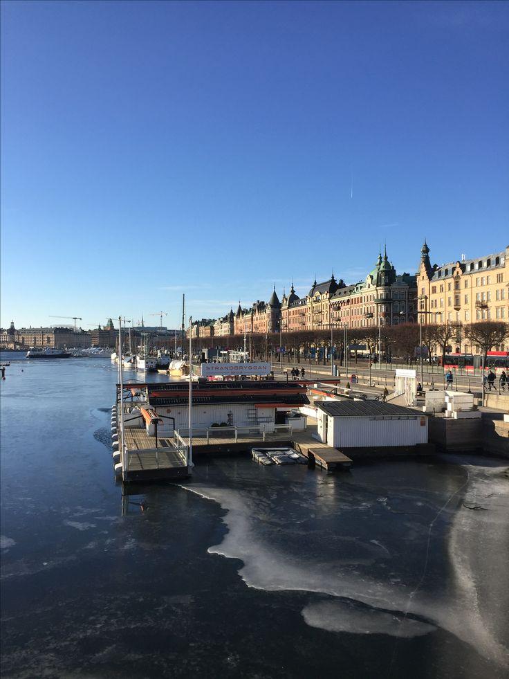 Strandvägen - Stockholm in February #Stockholm #Sweden #Sverige #perkamperin perkamperin.com/