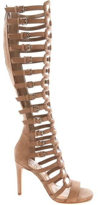 Vince Camuto Chesta Leather Gladiator Boot