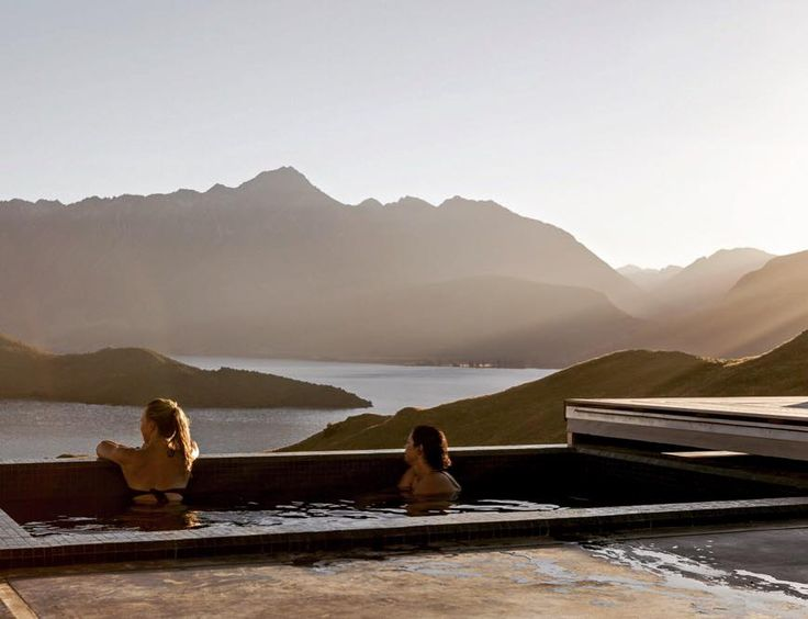 As the days are lengthening more of our guests are making full use of the Obsidian Spa. It's a special moment to watch the sun disappear behind the mountains