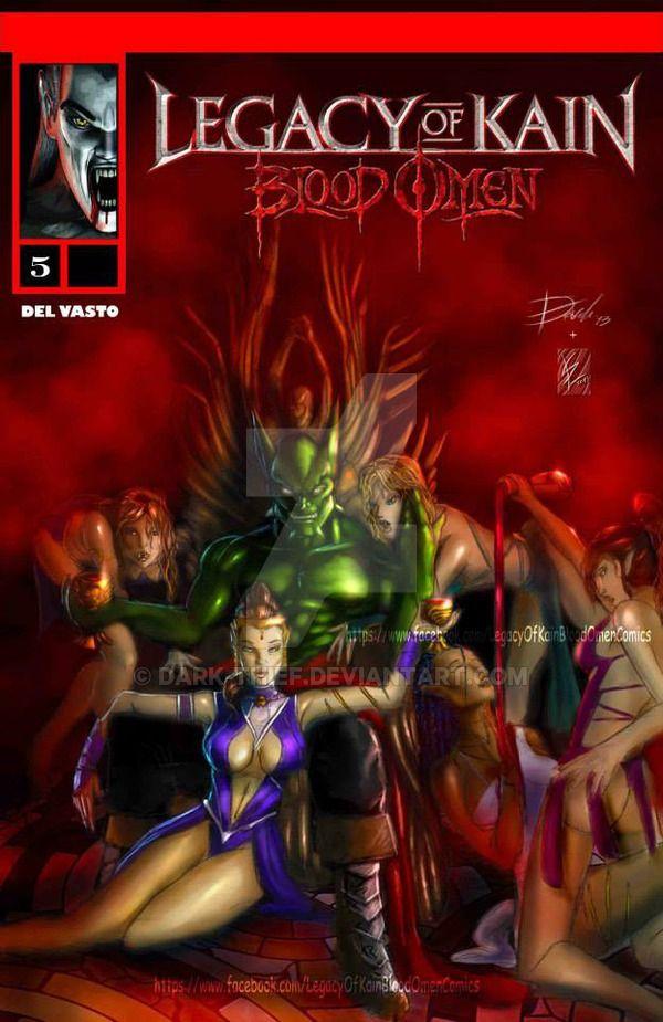Legacy of kain Blood omen comics issue 5 ITA/ENG by Dark-thief.deviantart.com on @DeviantArt