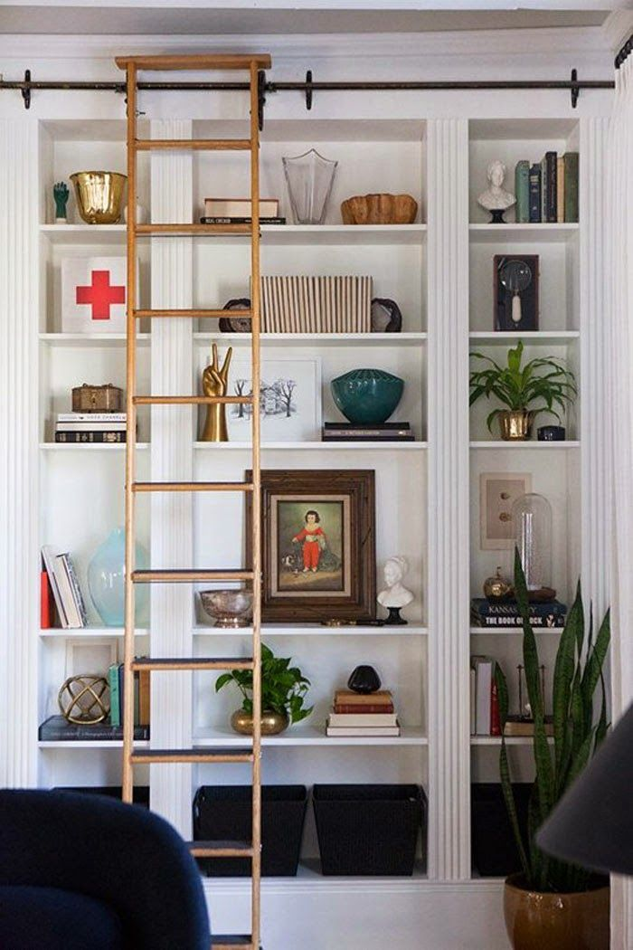 25+ New + Beautiful DIYs for Spring! Ikea bookcase