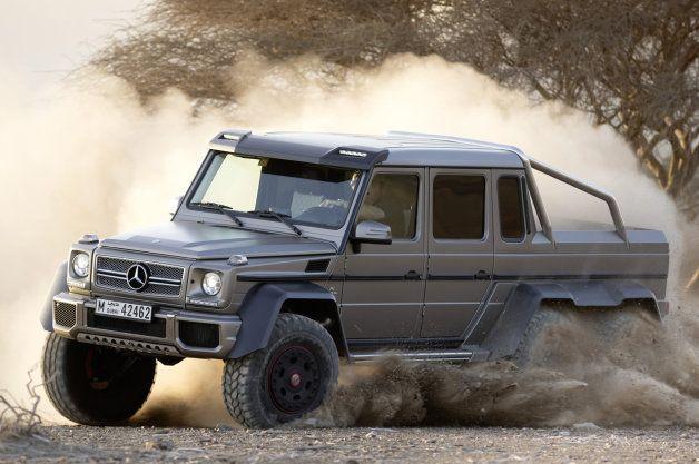 Mercedes prices G63 AMG 6x6 at around $513k*