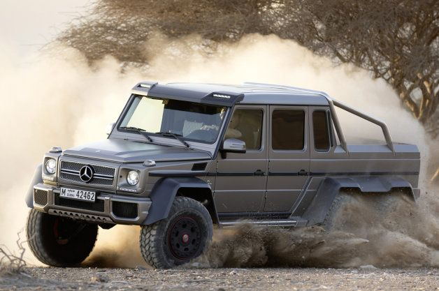 Official: Mercedes prices G63 AMG 6x6 at around $513k*