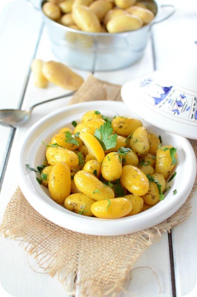 Tajine de Pommes de Terre Primeur au Citron Confit
