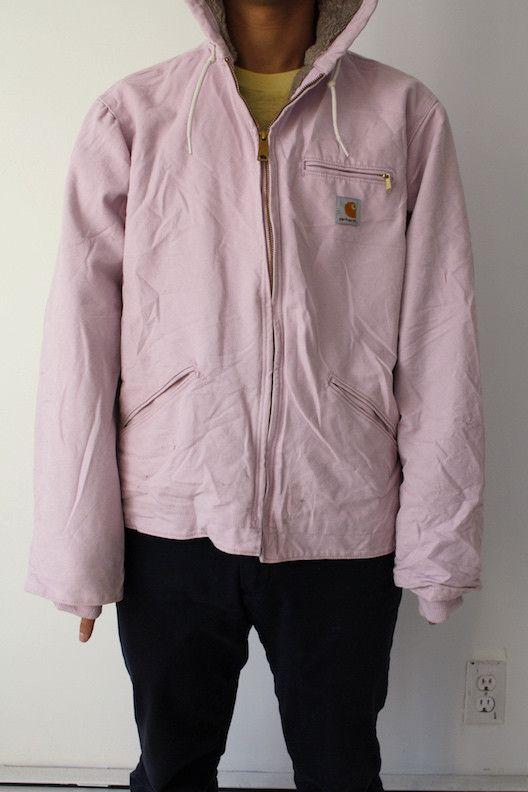 Light Pink Carhartt Jacket