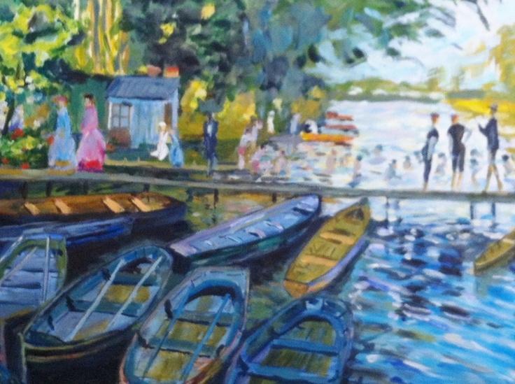 Tribute to Monet    Original Painting