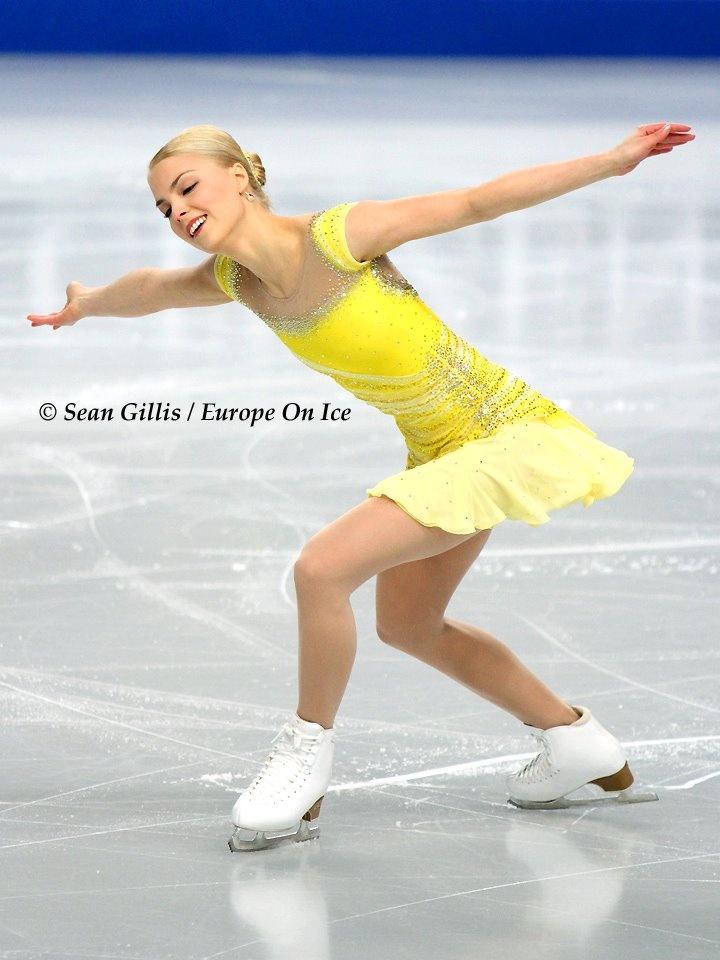 European Figure Skating Championships 2012: Kiira Korpi, Finland