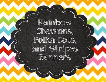 Bright Printable Banner and Welcome Banner!Colors include: red, yellow, teal, orange, pink, green, and navy. Also included: bright stripes diagonal ABC banner and bright chevron ABC bannerPrint, cut, and laminate, and you've got a cute banner for your classroom.