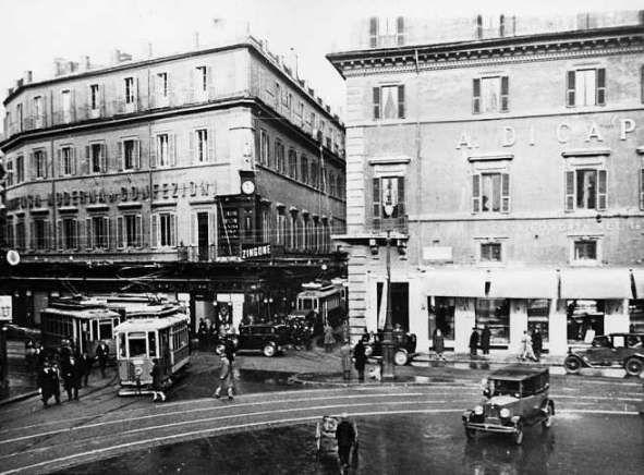 Roma - Largo di Torre Argentina - Foto storiche