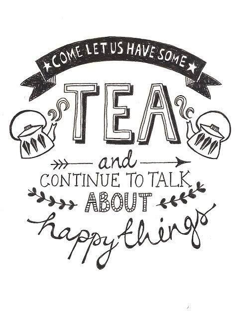tea & happy things