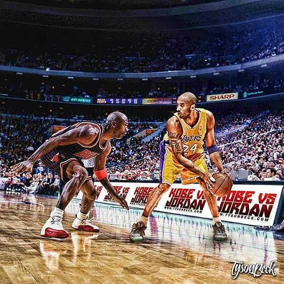 a comparison between kobe bryant and shaquille oneal two of the greatest basketball players of their Mj used simple math to chime in on a debate about two of the all-time greats   whether he will surpass michael jordan as the greatest player in nba history   the fact bryant teamed with shaquille o'neal for his first three titles and james   it's as reasonable as any other criteria for comparing players,.