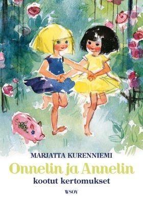 Alun perin neljänä erillisenä teoksena julkaistut Onneli ja Anneli -kirjat yksissä kansissa. Maija Karman alkuperäiskuvitus.