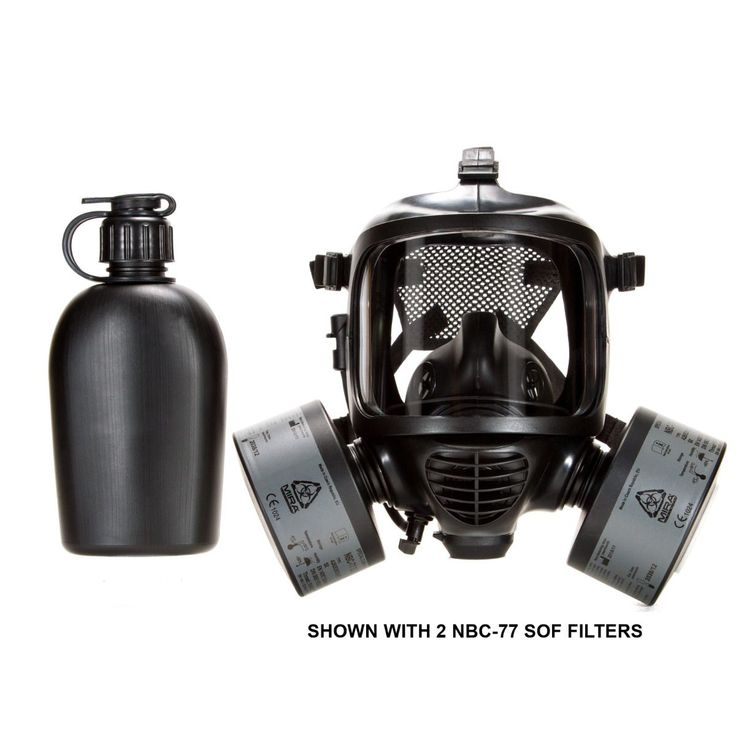 mira safety cm-7m military grade gas mask