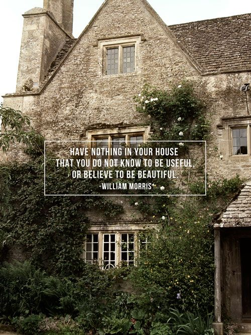 A Pair of Pears: Word to the Wise: William Morris