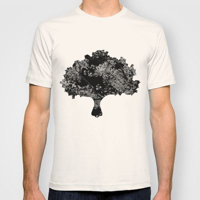 Cherry tree  T-shirt by Ina Ionescu - $22.00