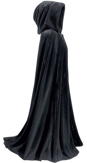 Truthfully, I've always wanted a cloak. Long, black, mysterious cloak. Even though I have no reason to own one, except that I want to... For lotr cosplay