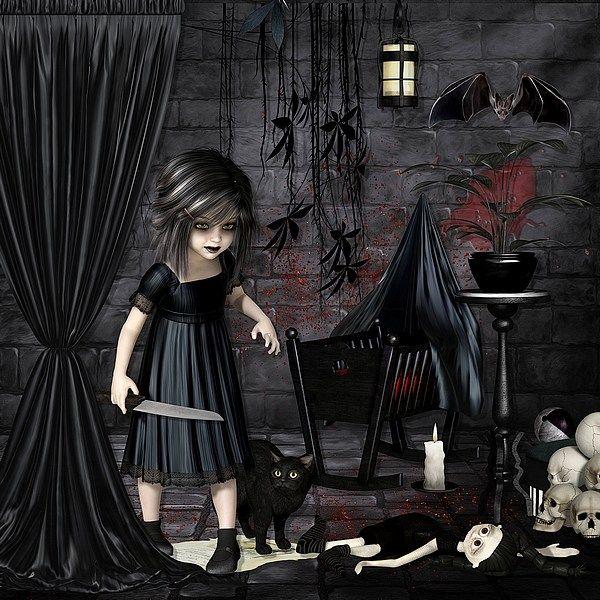 Darkness by Bel Scrap