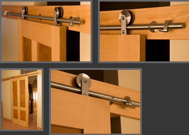 1000 images about modern barn door on pinterest for Contemporary interior door hardware