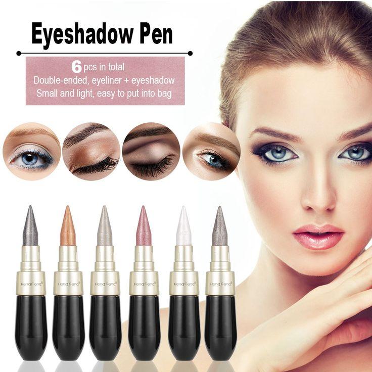 Only US$13.88, Heng Fang Liquid Eyeliner Pen 6pcs 2 in 1 Eyeshadow - Tomtop.com