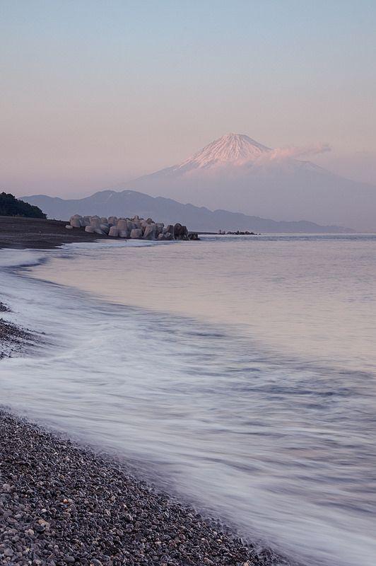 Miho no Matsubara and Mount Fuji, Shizuoka, Japan