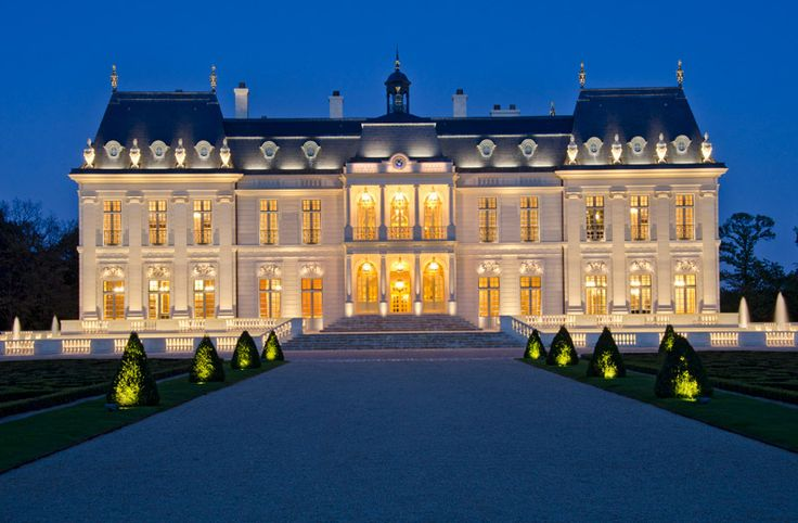 Chateau Louis XIV – A JAW DROPPING Newly Built Castle In France   Homes of the Rich – The Web's #1 Luxury Real Estate Blog