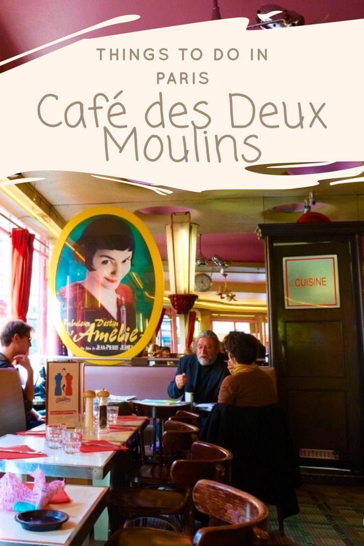 Things to do in Paris - Café des Deux Moulins (Amélie's Café)
