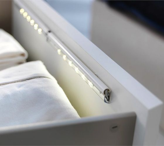 Dioder LED Drawer Light / http://thegadgetflow.com/portfolio/dioder-led-drawer-light/