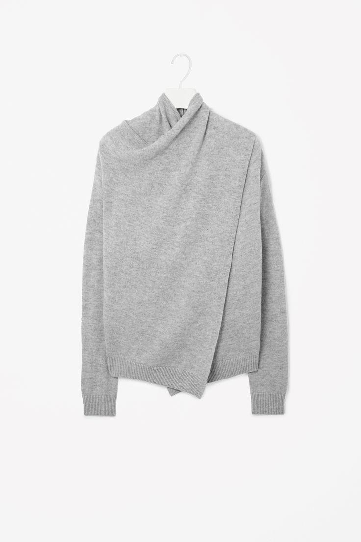 Cos . Overlap Wool Jumper . £59