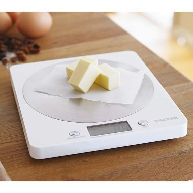 LIST Salter Aquatronic Flat Digital Kitchen Weighing Scales