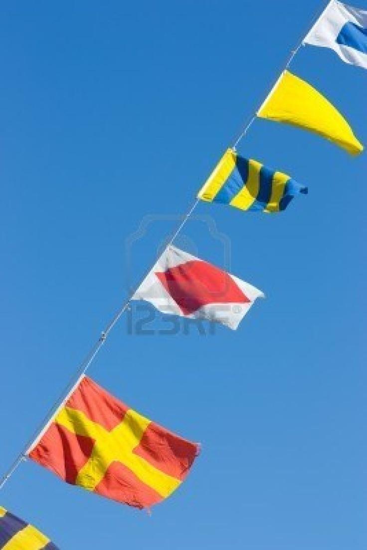 20- close up - Nautische vlaggen