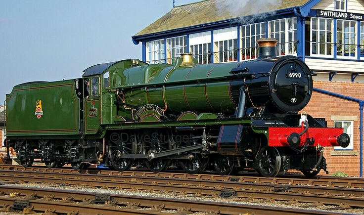 BR (GWR) Hall class  4-6-0   No 6990 'Witherslack Hall'
