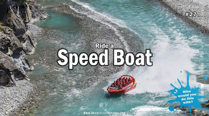 Is speed boat on your bucket list? #bucketlist #blf #speedboat