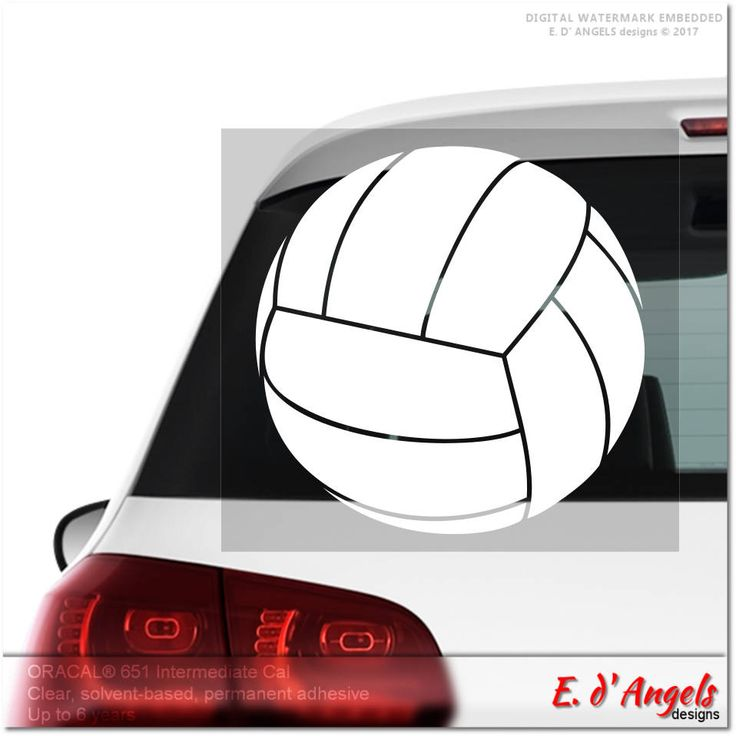 Volleyball decal, car decal, custom car decal, decals, vinyl decal car, custom car decals, funny car decals, vinyl decal custom