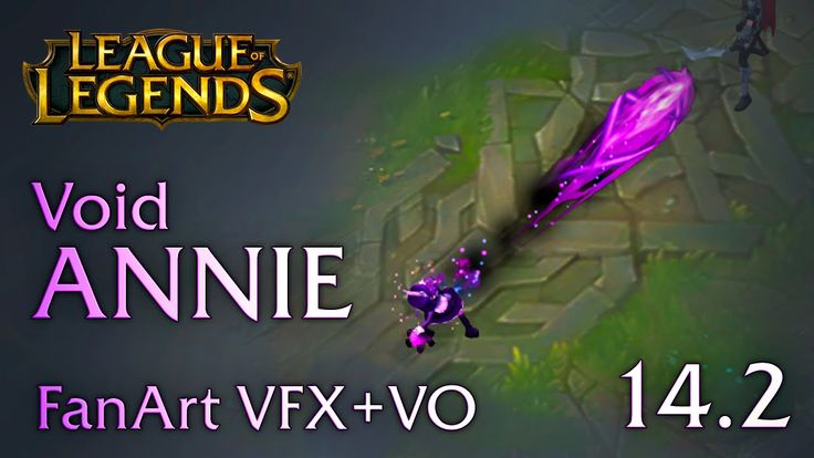 FINAL version of my fan-made VFX for VOID Annie. All feedback is greatly welcome! :)  Music from Riot Games  Sound Design by Quinn Boyce-Bacon  Voice by Kayli Mills - Website: http://www.kaylimillsva.com - Youtube: https://www.youtube.com/user/MewKiyoko  Concept Art by Hyliart - https://twitter.com/faeriefountain  Interactive Player: http://www.sirhaian.net/portfolio/LeagueOfEffects (Doesn't work in Chrome, sorry guys)
