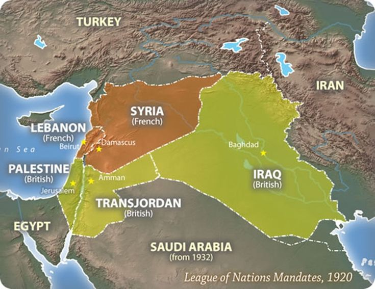 Britain & France concluded the secret Sykes-Picot agreement carving up the Ottoman empire between them, with the former getting Palestine, Jordan, Iraq & Kuwait and the latter getting Lebanon & Syria -- de facto conquests legitimized by League of Nations 'mandates' in 1920 -- creating the pre-conditions for the violence & chaos of today's Middle East. #ottomanempire
