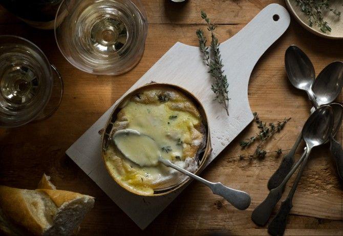 Tunkolnivaló sült sajt