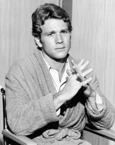 "Ryan O'Neal from ""Peyton Place"" which was a juicy soap in the evening. Loved it."