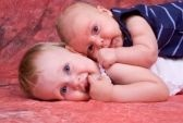 Really cute pose for infant and toddler pics